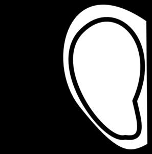 right ear clip art at clker com vector clip art online royalty rh clker com ear clipart cars clipart