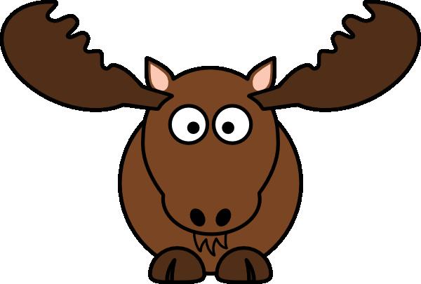 Moose face cartoon - photo#4