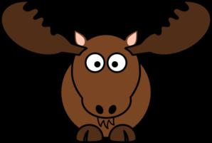 Moose face cartoon - photo#32