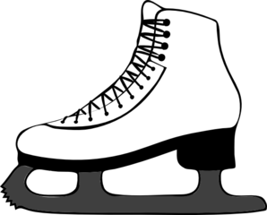 ice skating clip art at clker com vector clip art online royalty rh clker com skate clipart black and white skateboard clipart