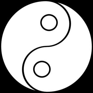 Blank Yin Yang Clip Art At Clker Com Vector Clip Art