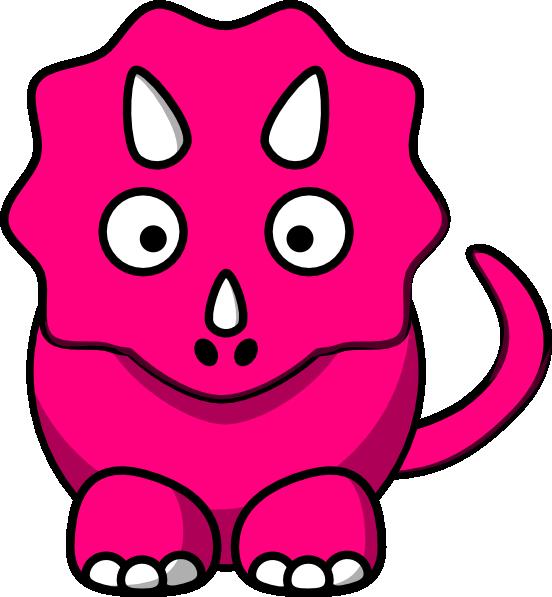 pink baby dinosaur clip art at clker com vector clip art online rh clker com Dinosaur Silhouette Clip Art Dinosaur Silhouette Clip Art