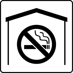 Hotel Icon No Smoking In Room Clip Art
