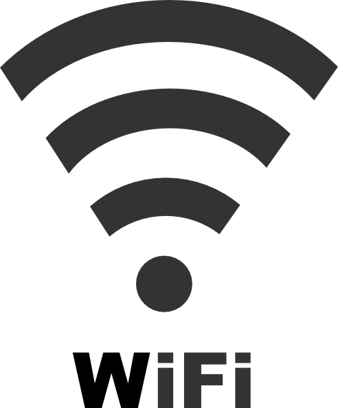 Wifi Icon With Text Clip Art At Clker Vector Clip Art Online