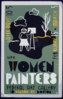 Wpa Women Painters, Federal Art Gallery, 50 Beacon St., Boston  / Rw(?) [monogram]. Clip Art