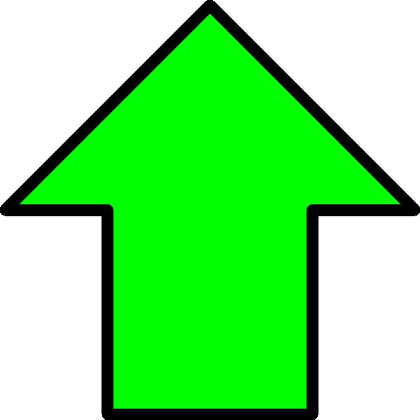 Green Up Arrow Clip Art at Clker.com - vector clip art ...
