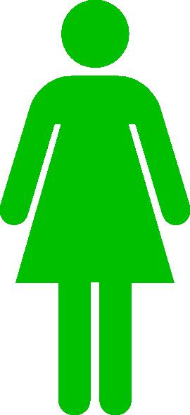 clipart ladies toilet - photo #23