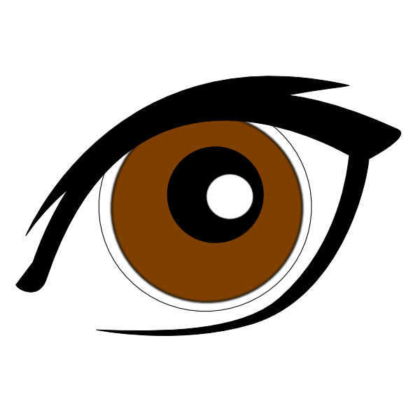 Cartoon Eye New Clip Art at Clker.com - vector clip art online ...