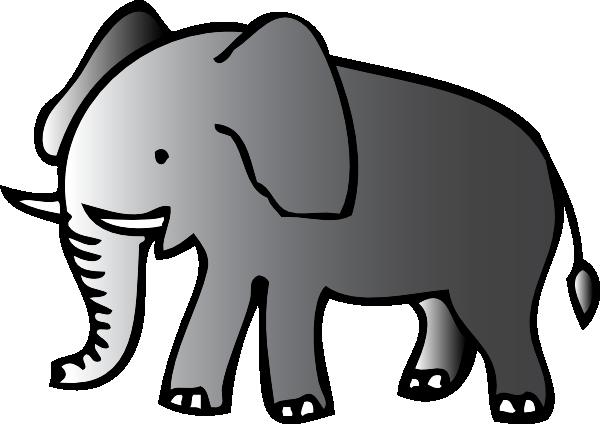 Elephant Clip Art At Clker Com Vector Clip Art Online Royalty