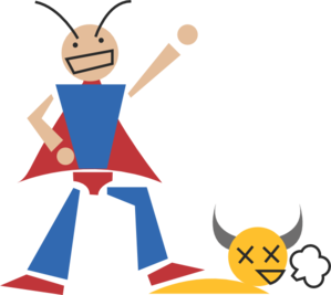 Hero Cartoon Clip Art