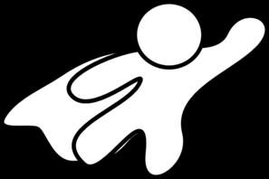 Superhero White Cape Clip Art At Clker Com Vector Clip