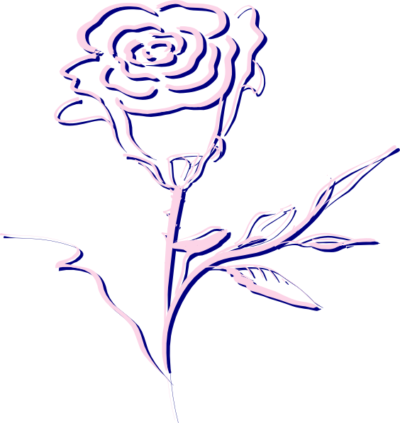 yellow rose coloring pages - photo #27