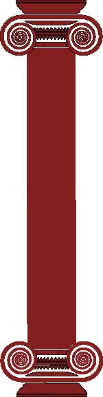 pillar red clip art at clkercom vector clip art online