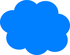 blue cloud clip art at clker com vector clip art online royalty rh clker com clouds clipart pictures clouds clipart pictures