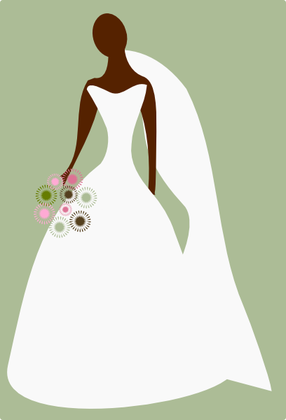 wedding gown clipart free - photo #17