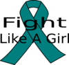 Pcos Awareness Ribbon Clip Art