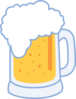 Plain Beer Mug Clip Art
