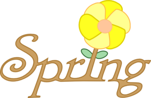 Spring Rooted Clip Art