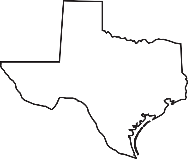 clipart map of texas - photo #20