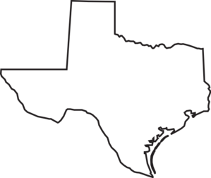 Texas Outline Clip Art