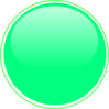 Glossy Lime 2 Button Clip Art
