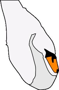 Swan 7 Clip Art at Clker.com - vector clip art online ...