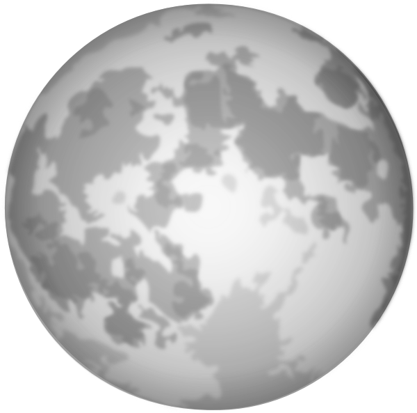 clipart image of moon - photo #20
