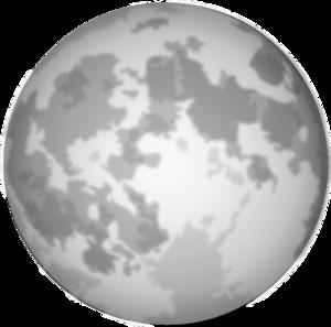 Full Moon Clipart | New Calendar Template Site