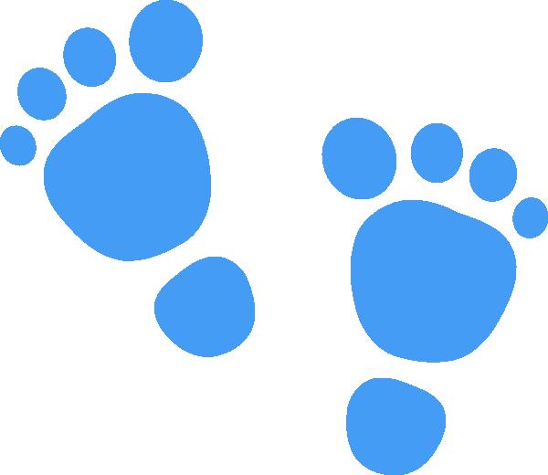 Footprints Clip Art at Clker.com - vector clip art online ...