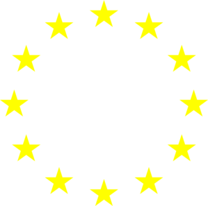 European Stars- Yellow Clip Art