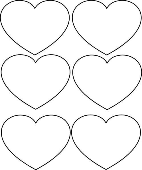 full page heart template - hearts clip art at vector clip art online