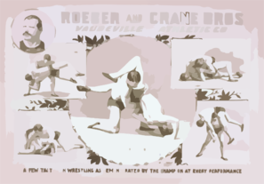 Roeber And Crane Bros Vaudeville-athletic Co. Clip Art