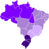 Mapa Do Brasil Hcv Clip Art