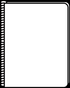 notebook white clip art at clker com vector clip art online rh clker com notebook clipart png green notebook clipart