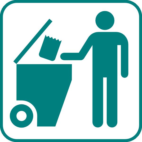 Recycling Bin Icon Clip Art At Clker Vector Clip Art Online