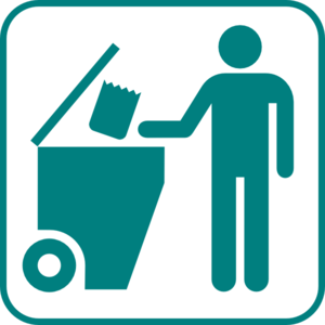 Recycling Bin Icon  Clip Art