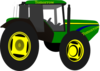 Green Tractor Tomorrow Clip Art