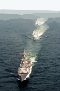 Uss Rueben James Along With Pakistan Navy Ship (pns) Shahjahan And Pns Tippi Sultan Are Currently Participating In Exercise Inspired Siren 2002. 2 Clip Art