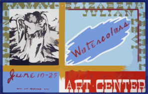 Watercolors, Ottumwa Art Center  / Bf. Clip Art