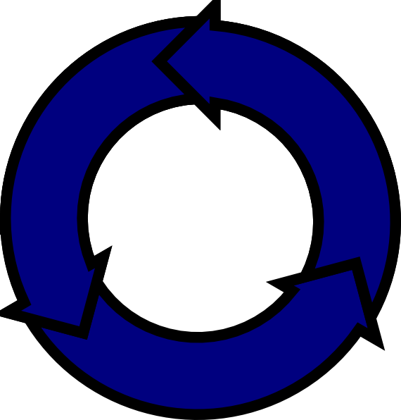 circle and arrow