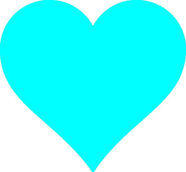 Vector Western Pattern Aqua Heart Clip Art at...