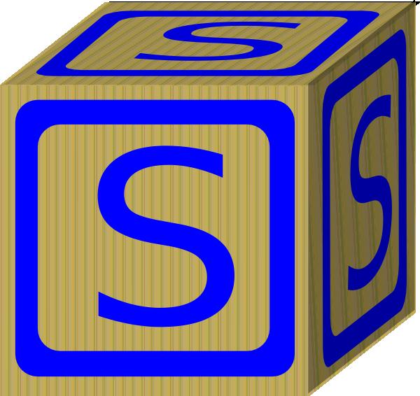 letter s block clip art at clker com vector clip art online rh clker com block clip art free block clip art free