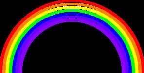 rainbow background clip art at clkercom vector clip art