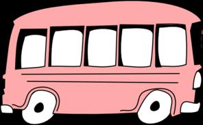 pink bus clip art at clker com vector clip art online royalty rh clker com Cool School Bus Clip Art Pink and Black Balloons Clip Art