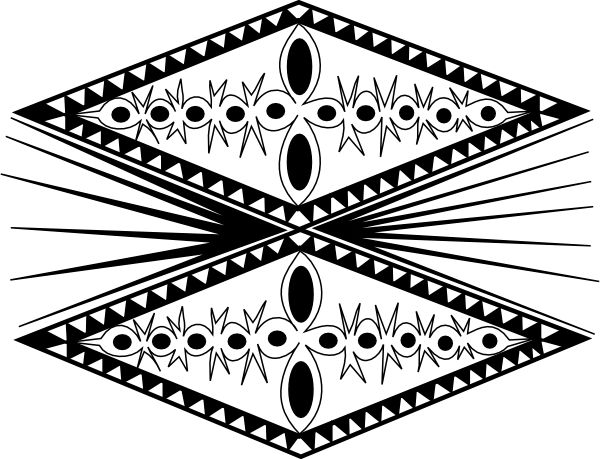 Tongan Tribal clip art