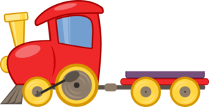 Function Train Clip Art