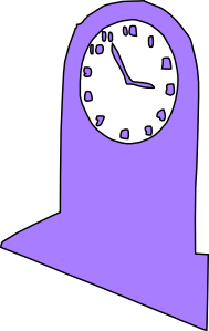 Big Clock Time Clip Art