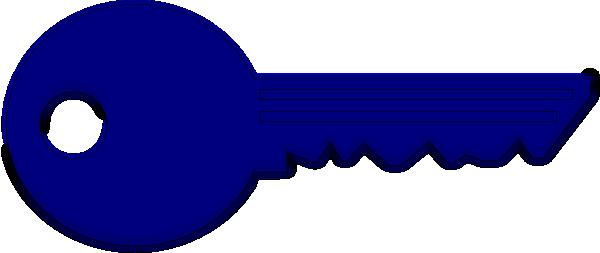 Key Blue Clip Art at Clker.com - vector clip art online, royalty free & public domain