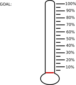 Blank Percent Thermometer Clip Art at Clker.com - vector clip art ...