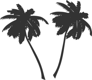 Wonderful Palm Trees Clip Art